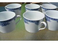 6 NEW COFFEE MUGS