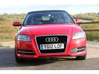Audi A3 CABRIOLET 1.6 TDI 2dr LOW MILEAGE, GREAT CONDITION