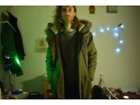 Mens New Look parka size small perfect condition