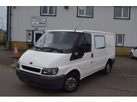 LEFT HAND DRIVE FORD TRANSIT VAN, DRIVES VERY WELL,ENGINE&MECHANICS GREAT,BIG LOAD SPACE.CALL MARC
