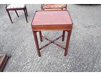 Mahogany Occassional Table