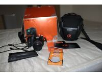 Sony a100 camera with accessories