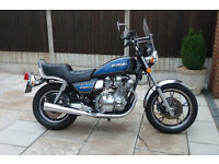 SUZUKI GS 1100 L 1982 ORIGINAL and UNMOLESTED 8200 Miles.