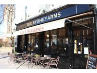 BAR / WAITSTAFF REQUIRED FOR CHELSEA PUB & RESTAUARNT