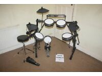 Alesis DM5 PRO Electronic Drum Kit complete with Stool and Headphones and Drum Sticks