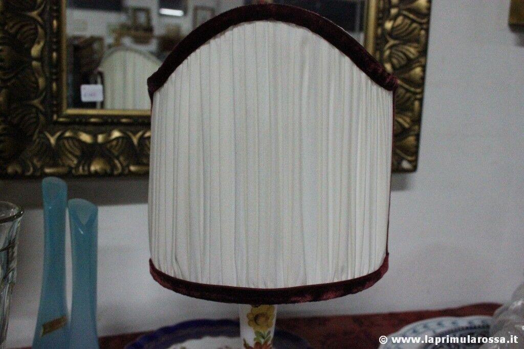 Elegante ventola vintage per applique paralume artigianale in stoffa