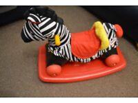Little Tikes 2 in 1 Rocking & Riding Zebra with Wheels & Rocker