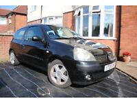 2005 Renault Clio spares or repair, LOW MILEAGE! 66,295 miles, Failed MOT (SOLD AS SEEN)