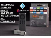 Kodi TV Stick FREE Movies,TV Shows NO Subscription Required