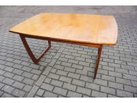 Stylish Portwood Mid Century Teak Extendabe Table Gplan style FREE DELIVERY CENTRAL EDINBURGH