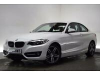BMW 2 SERIES 2.0 220D SPORT 2d 181 BHP (white) 2014