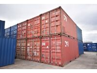 20ft Steel Storage Container / Shipping Container for sale. Good condition. Wind and water tight.