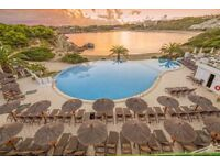 2 bed apartment at White Sands Beach Club Menorca 27th July for 1 week