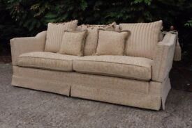 Designer Gascoigne James 3 seater knole sofa cost new £3400