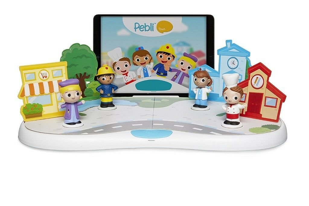 Pebli Town playset for iOS and Android, boxed and complete