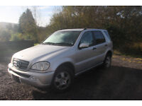 2004 ML270 - AUTOMATIC - FULL LEATHER 5-7Seater - 4x4 - LOW MILES - NEW TIRES/BRAKES - 2 PREV OWNERS