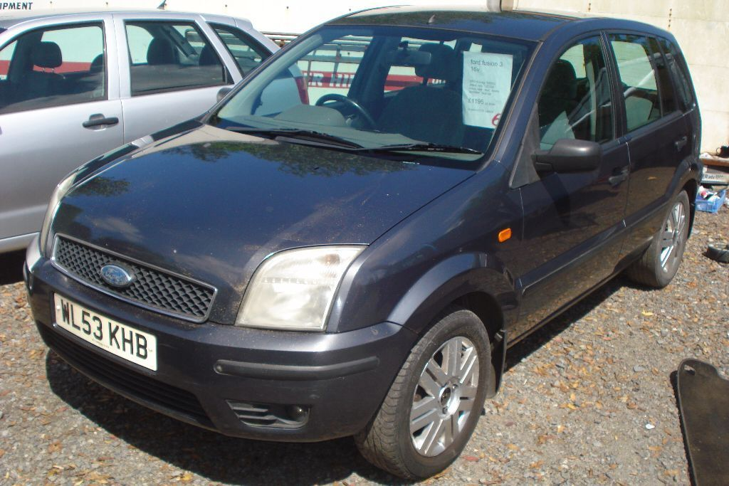 ford fusion 3 16v 2003 53 reg 1600cc petrol only 122 000 miles new mot in redruth cornwall. Black Bedroom Furniture Sets. Home Design Ideas