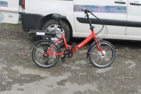 Electric Bike Folding.