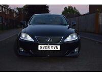 Lexus IS220 Sports,Black,6 Speed Manual,Economical, 1 year MOT, Fully loaded not BMW, Mercedes, Audi