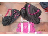 3 lovely handbags, all great condition. will sell separately. £3 each for the top 2, then mi