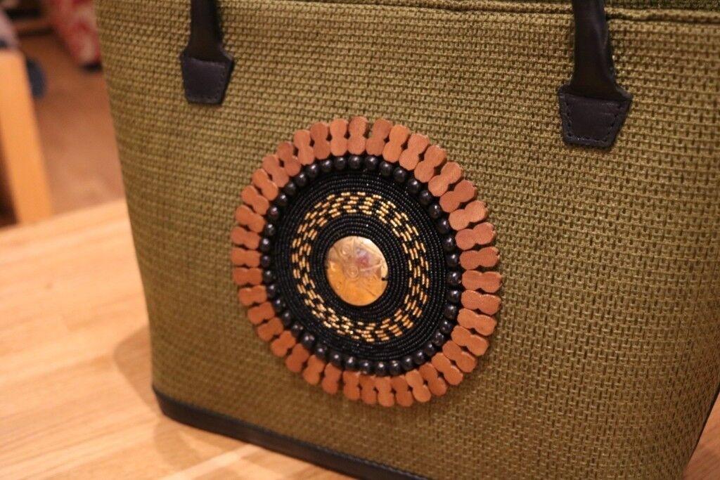 Maasai Colour Tote Handbag Ethically Handmade In Kenya