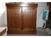 John Lewis wooden cupboard/changing table for sale