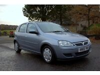 2005 (55) Vauxhall Corsa 1.2 Design 5 Door, Low mileage