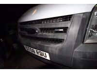 FORD TRANSIT 140- T-350 DOUBLE CAB 3 WAY TIPPER - 08-REG