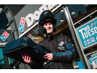 Domino's Pizza Holloway Road Full/Part Time Driver Using a Company Scooter or own Scooter Wanted
