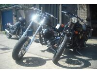 Harley Davidson Custom Chopper Immaculate PRICE REDUCED