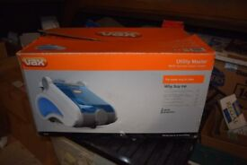 VAX UTILITY MASTER STEAM CLEANER---BOXED.AS NEW