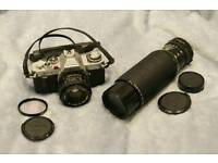 Canon AV1 - vintage film camera as spares