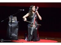 Cellist (Bollywood, Hindi songs) available for collaborations. Experienced wedding musician.
