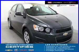 2014 Chevrolet SONIC LS *AIR CLIM CRUISE CONTROL*