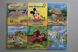 Baby's first Disney library