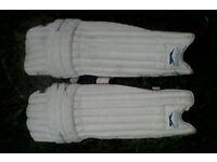 Cricket pads, mens, right-handed Slazenger