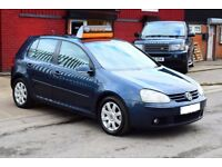 2005 VW GOLF GT TDI 2.0 DIESEL*PART SERVICE HISTORY*1 YEAR FREE AA BREAKDOWN COVER*NEW MOT & SERVICE