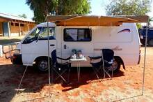 2007 solar powered Mitsubishi Campervan with fridge, shower & TV Darwin CBD Darwin City Preview