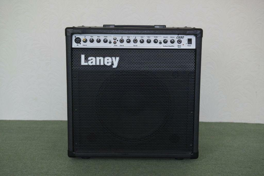 laney ck80 amplifier for guitar keyboard or microphone in newport on tay fife gumtree. Black Bedroom Furniture Sets. Home Design Ideas