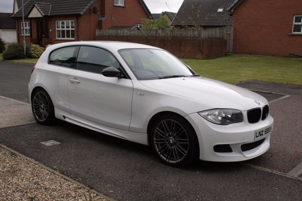 2008 bmw 120d m sport alpine white in ahoghill county antrim gumtree. Black Bedroom Furniture Sets. Home Design Ideas