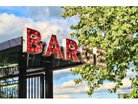 Events, Administration & Bar Supervisor wanted- a unique events space on a boat nr Vauxhall