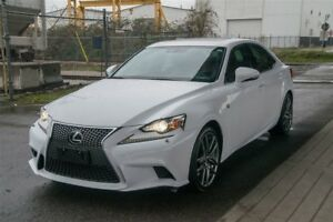 2014 Lexus IS 350 Loaded F Sport Series 3 Package