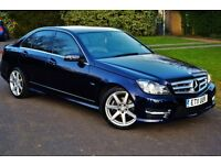 Mercedes C220 AMG Sport BLUEEFFICIENCY,Automatic gearbox,2011 facelift,C class,Px with audi, bmw,