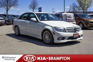 2009 Mercedes-Benz C-Class Base|BLUETOOTH|MP3|ALLOYS|KEYLESS|CRU