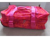 2 Wheeled Suitcase, Soft Fabric.