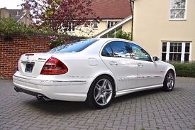 Mercedes Benz E55 AMG LHD immaculate (very low mileage) PRICE REDUCED