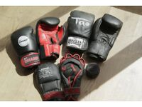 Collection Of Boxing Gloves