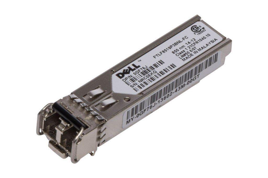 Dell 1G FC SFP Short Wave Transceiver - GF76J - FTLF8519P3BNL