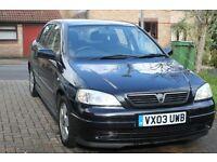Vauxhall Astra 1.8 16v Elegance Auto 2003 in black