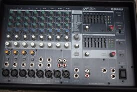 Yamaha EMX 512SC active powered mixer amp mixing desk, 500 Watts RMS per channel, good condition